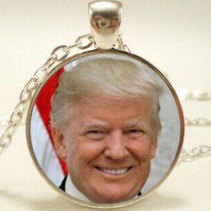 Jewelry - President Donald Trump Photo Necklace